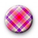Pink and Purple Plaid Pattern badge