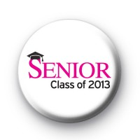 2013 Senior Pink Badges
