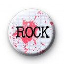 Pink ROCK Button Badge