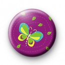 Purple butterfly badge