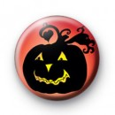 Spooky Halloween Pumpkin badge