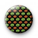 Orange & Green Pumkin Pattern Bagdes