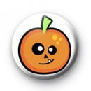Cute Halloween Pumpkin Toothy Badges