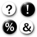 Punctuation Badge Set