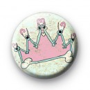Punk Rock Crown Badge