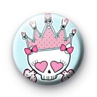 Punk Rock Crown Button Badges