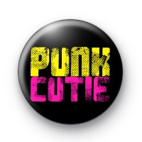 PUNK Cutie Button Badges