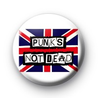 Punks Not Dead Badge