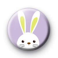 Purple Easter Bunny Badges