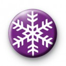 Purple Snowflake Badges