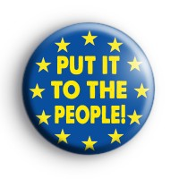 Put it to the people EU badge