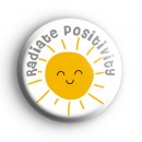 Radiate Positivity Badge
