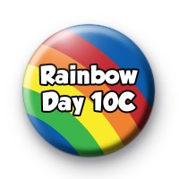 Rainbow Day Custom Text badge