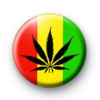 Rasta Drugs Button Badges