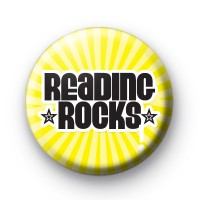 Yellow Reading ROCKS Badge
