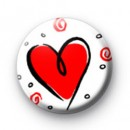 Swirly Heart Badges