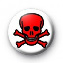 Red Skull Badges