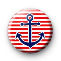 Red and Blue Anchor Badge