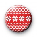Red Festive Jumper badge