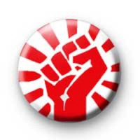 Raised Fist badges