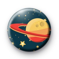 Red Planet Button Badges