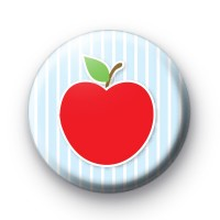 Rosy Red Apple Badges