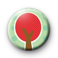 Red Tree Button Badges