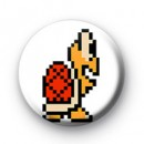 Super Mario Red Koopa Troopa Turtle badge