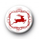 Reindeer Prancer Button Badges