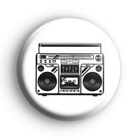 1980's Stereo Badge