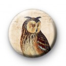 Retro Owl 4 Pin Badge