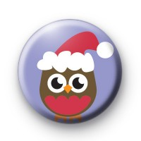 Robin Red Breast Xmas Badges