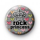 Kick Ass Rock Princess Badge
