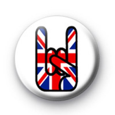 Union Jack Metal Hand Badge