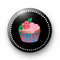 Sophisticated Rose Cupcake Badges