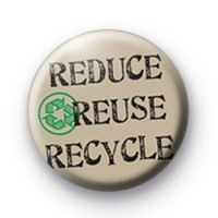Recycle Brown Badge