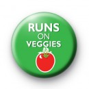 Runs on Veggies Badges