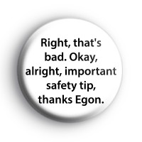 Ghostbusters Safety Tip Badge thumbnail
