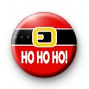 Santa Belly HO HO HO Badge