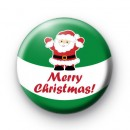 Santa Claus Merry Christmas Badge