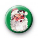 Green Santa Claus 1 badges