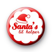 Santa's lil Helper Red Badges