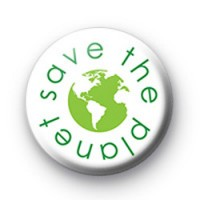 Save The Planet Green Badges