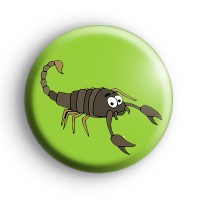 Scorpion Button Badge thumbnail