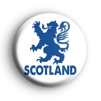 Lion Rampant of Scotland Badge