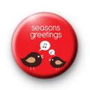 Seasons Greetings Tweet Birds badges