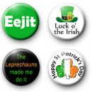Set 4 Irish Badges