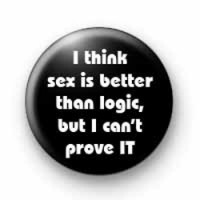 Sex & Logic badges