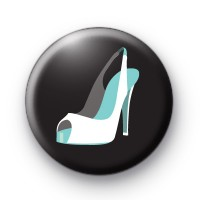 Wedding Shoe Button Badges