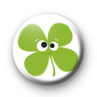Shamrock Face Badge